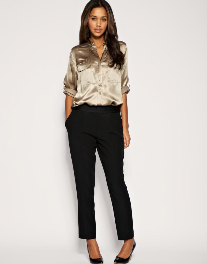 Жіночі чорні штани  з чим носити класичні або завужені моделі ... 2809cc0b4f29d
