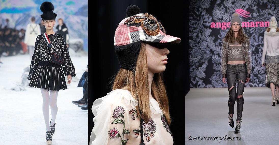 Зв язати модну зимову шапку. Весняно - осінні шапки. Забавні шапки ... a03b1cf22b9b6