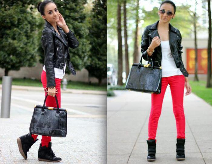 508a6ec87 أما بالنسبة للموسم البارد ، في درجات الحرارة المنخفضة ، يمكن ارتداء أحذية  رياضية (أحذية) للشتاء مع معزول بنطال رياضةبنطال جينز أسود أو نحيل التنانير  الضيقة ...