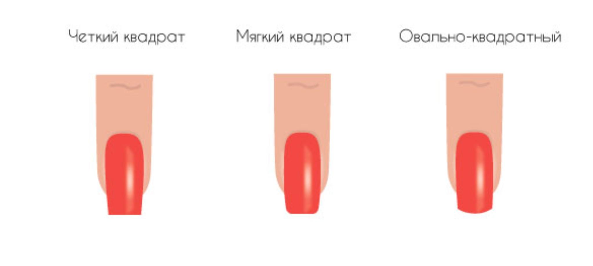 Маникюр на очень короткие ногти