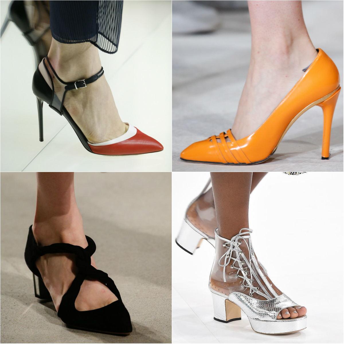 Модні жіночі туфлі весна-літо 2017 фото мають розмаїття моделей 8dbeeea36308f