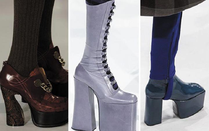 1e1bda857585cb Експериментуючи зі стилем в 2018 році дизайнери рекомендують поєднувати  ультрамодні черевики і чобітки класичної стилістики з демісезонними пальто,  ...