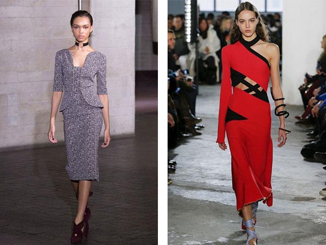Зимові вбрання на кожен день. Модні фото новинки сукні на зиму 2017 ... 406bf36e02307