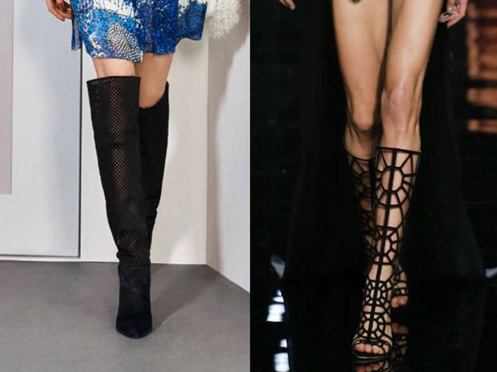 Модні тенденції жіночих чобіт осінньо-зимового сезону c5280df4d0bb4