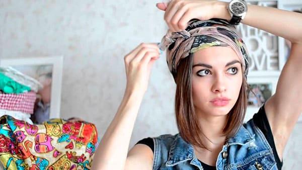 0964bed633b Módne spôsoby viazania šálu. Ako krásne zviazať šál okolo vášho krku ...
