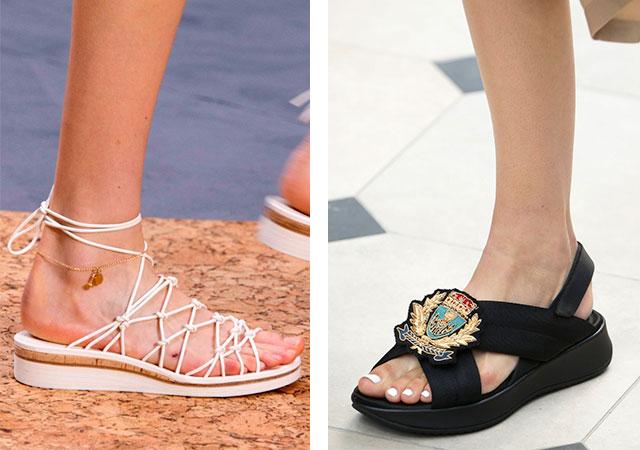 9e43d32736c9c Šmýkačky sú skvelou alternatívou k drobným sandálem. Svetlá, svetlá,  pohodlná a ideálna pre plážovú módu.