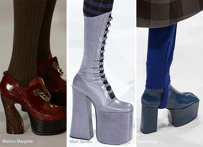 Яка взуття в тренді цієї зими. тренд - прозорий каблук. Модна ... 7dfef4b67992d