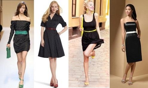 e03acec453 Čo nosiť s čiernymi šatami. Malé čierne šaty  čo nosiť.