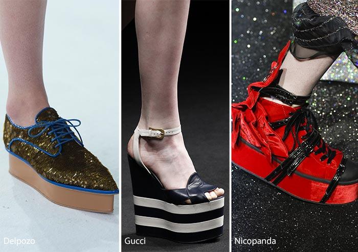 У деяких моделях туфель платформа органічно поєднується зі шпильками aa1517c0aa796