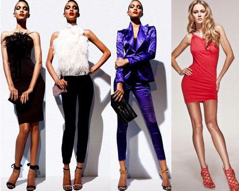 9fda6f1e8410 Kontrastné farby a odtiene sa používajú v oblečení a make-up.  Najobľúbenejšie je kožené oblečenie