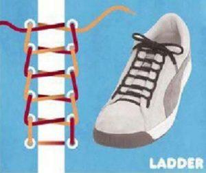 Спосіб зав язувати шнурки - «Драбина» (Ladder) 62556c0389514