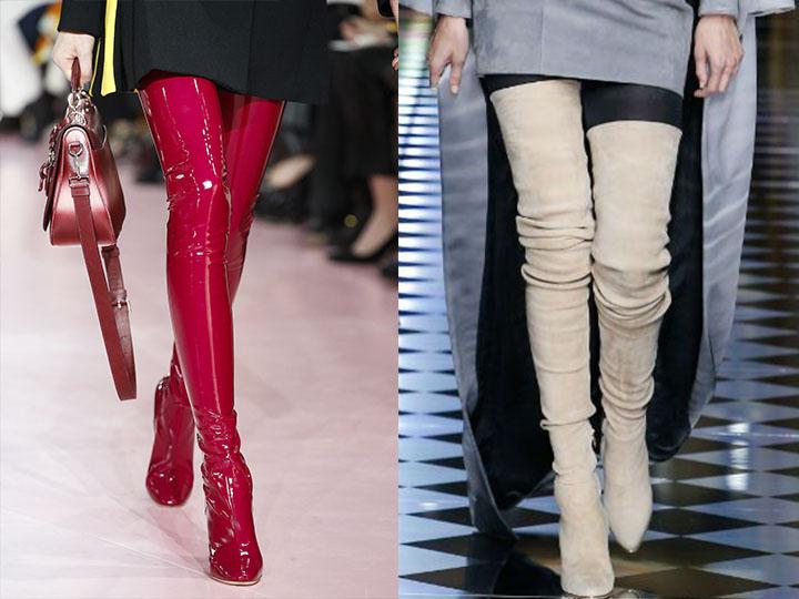 Модні осінні чоботи. Модні зимові жіночі чоботи 4e6f539977de7