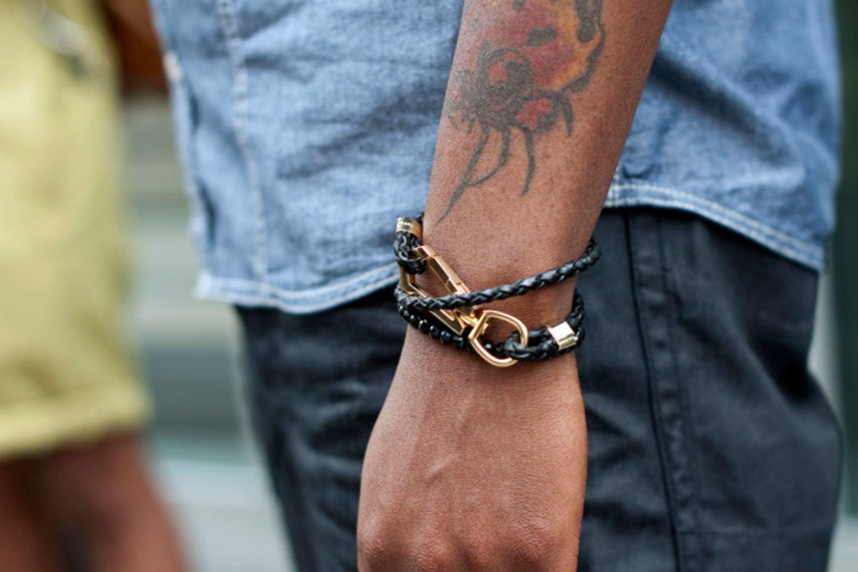Как сделать модный браслет своими руками: мастер-класс 18