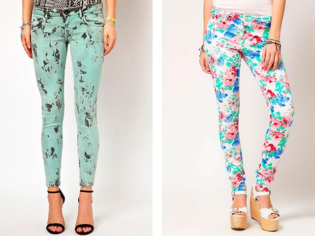 Модна довжина джинс. Рвані і пошарпані варіації. Клешеная джинси ... a6ccd58f81d90
