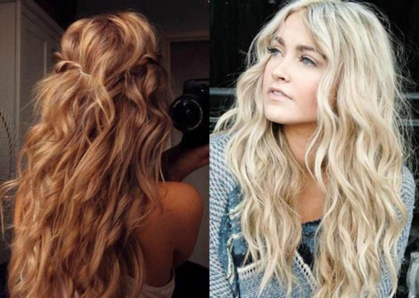 Как сделать легкие волны на волосах пошагово