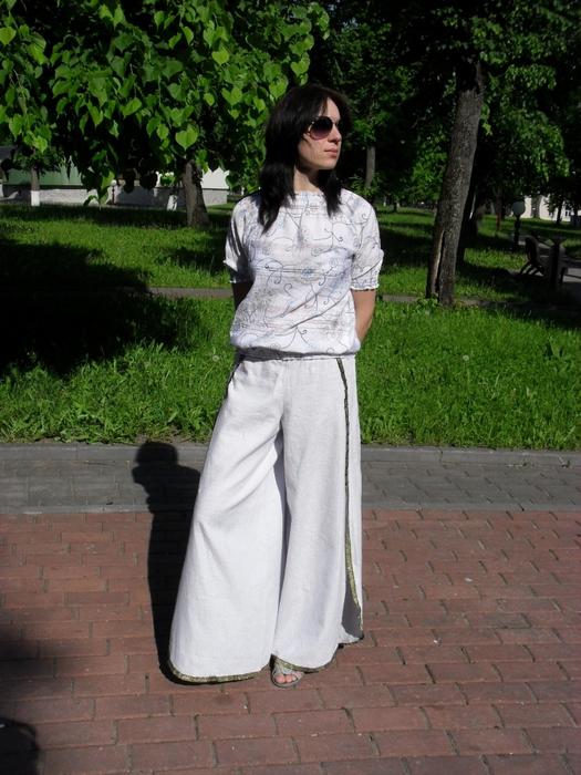 Модний гардероб  штани з запахом. Шиємо штани з запахом. 5e12263c8789a