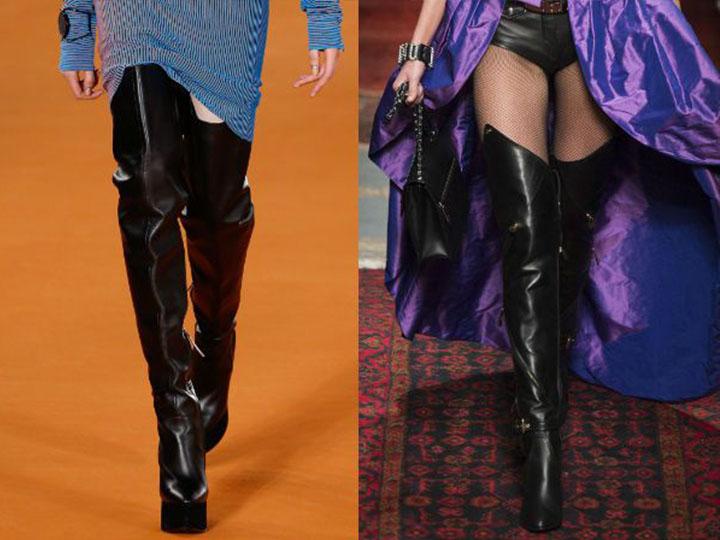 Який сезон не виходять з моди чоботи-панчохи. У майбутньому сезоні  модельєри рекомендують дівчатам звернути увагу на дуже високі моделі 5ef8c202414d4