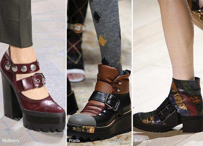 Яка взуття в тренді цієї зими. тренд - прозорий каблук. Модна ... 4259f23293a64