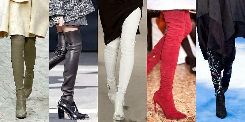 Модні чоботи зі шнурівкою осінь-зима 2016-2017 726b8e408c621