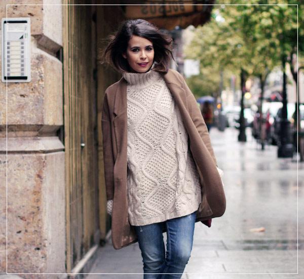 2fa23708b624 Klasický sveter je zvyčajne pletené kus odevu s dlhými rukávmi a vysokým  golierom. Môže to byť dosť masívne