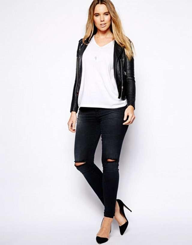 Саме бездоганне і виграшне поєднання білої бавовняної футболки з джинсами  скинни або бойфрендами 7e021eba7f8fa