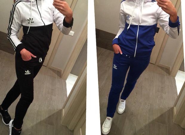 Трендом майбутнього року дизайнери назвали спортивні костюми жіночі в  піжамному стилі 09ad556910151