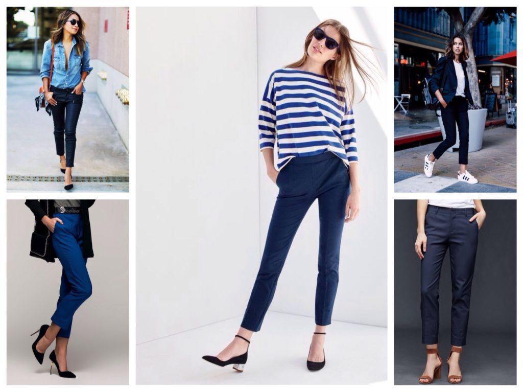 Взуття під сині штани. З чим носити сині штани  поради для жінок і ... f18ca23385b6a