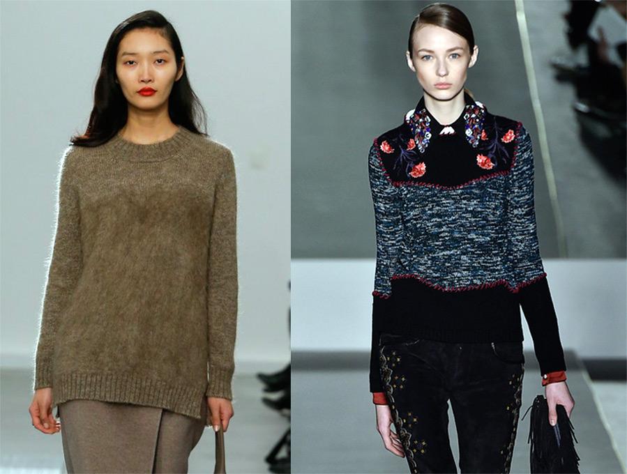 Джемпер жіночий в язаний. В язані пуловери спицями 7eadd5b81d499