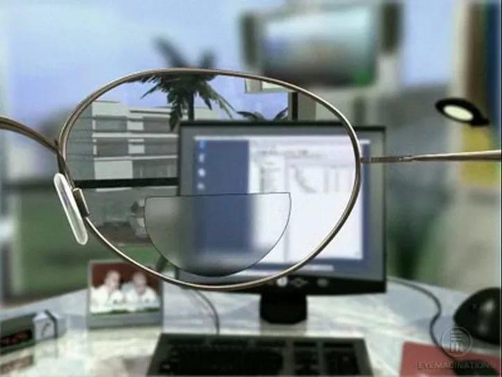 Пристрій біфокальних очок 48671d8999722