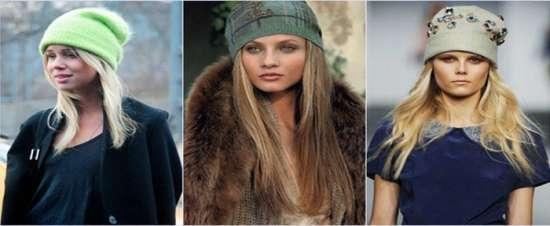 dd2e40c91d0 Модните дизайнери предлагат да се обърне внимание на модата плетени  моделикоито отново бяха на върха. Плетени шапки могат да комбинират  комфорта и стила.