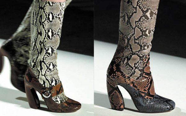 Кілька років тому чоботи з гострим і прямокутним носком вже користувалися  завидною популярністю у представниць прекрасної жіночої статі. 76343c73ac8cc