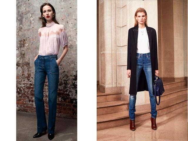Модна довжина джинс. Рвані і пошарпані варіації. Клешеная джинси ... 49a3dd0fa71be