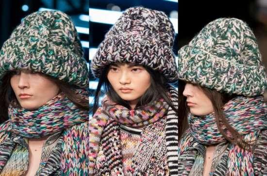 Модні кольори шапок і шарфів. Федори в гангстерському стилі. Модні ... 460a9671dad75