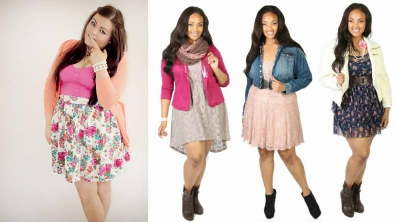 Одяг для повної дівчини. Стиль одягу для повних дівчат і жінок ... 1a785c61c9bbd
