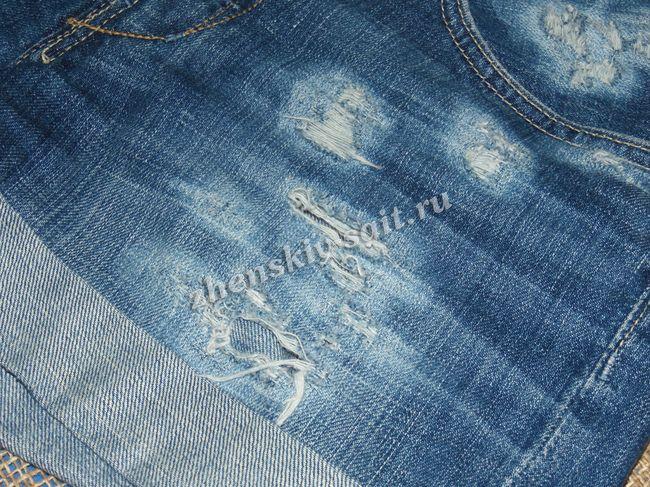 Потерта джинсова. Як зробити джинси потертими самостійно  1c817d80b453f