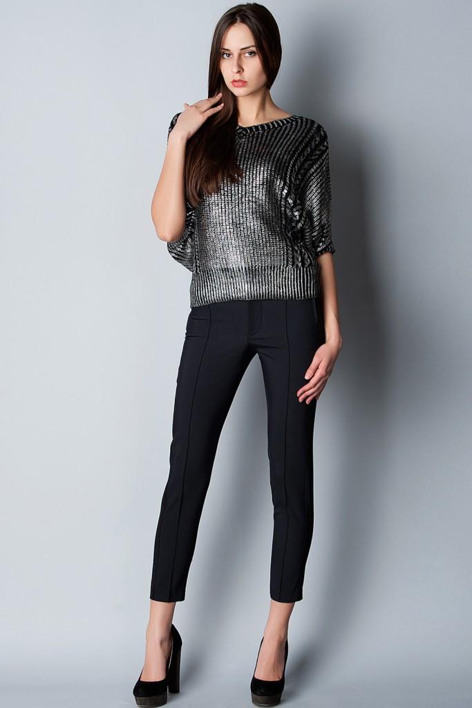 Жіночі чорні штани  з чим носити класичні або завужені моделі ... cd33cc8e35fd0