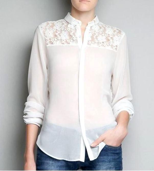 Цікаві і незвичні блузи. Офісні блузки - модна класика. fe66314a57dae