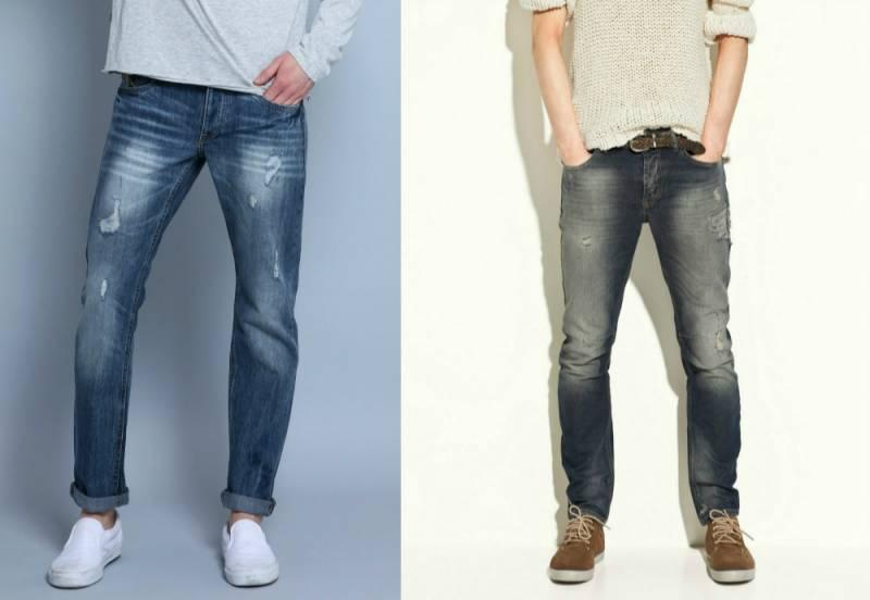 Яке взуття носити з джинсами чоловікові - особливості вибору ... 184d50586dfc0