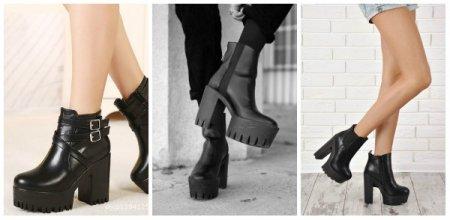 Для цінительок особливого комфорту ніг можуть бути на прямій високій  платформі без підняття п яти. Тобто чоботи не вигинають стопу. Виглядають  вони трохи ... 86fcf2e92ac89