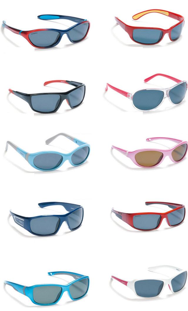 Detské slnečné okuliare tohto materiálu sa odporúčajú pre deti všetkých  vekových kategórií. Okrem svojej sily nenarúšajú farby. 016407bad76
