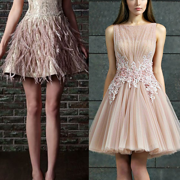 Короткі вечірні сукні. Красиві весільні 878222b7c935a